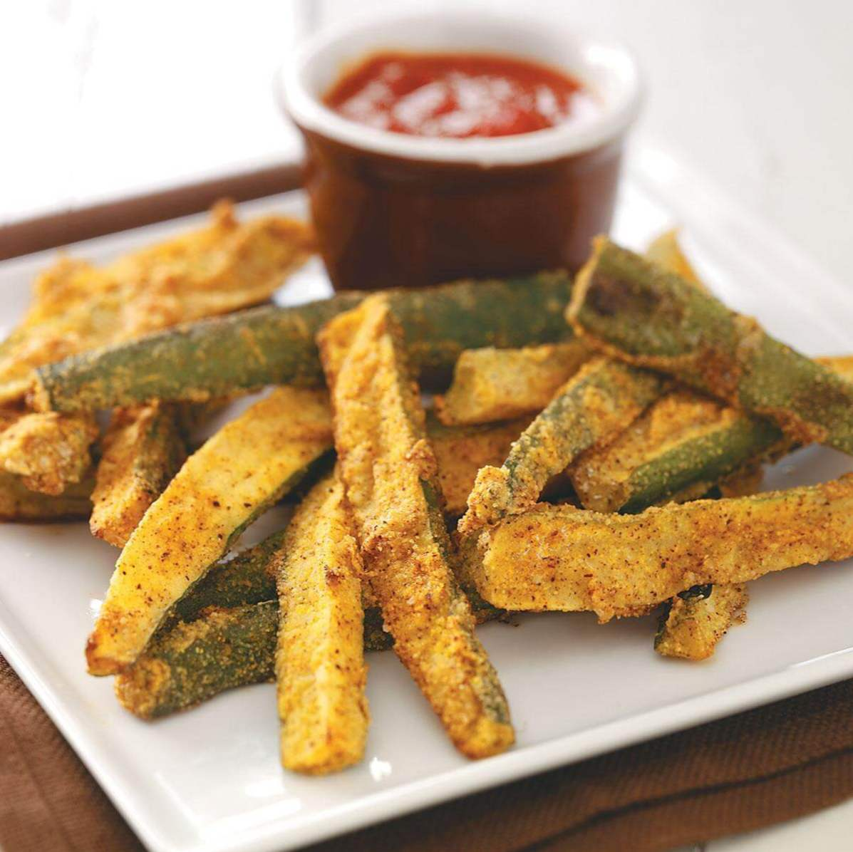 Zucchini Fries for 2 / grønnsaker