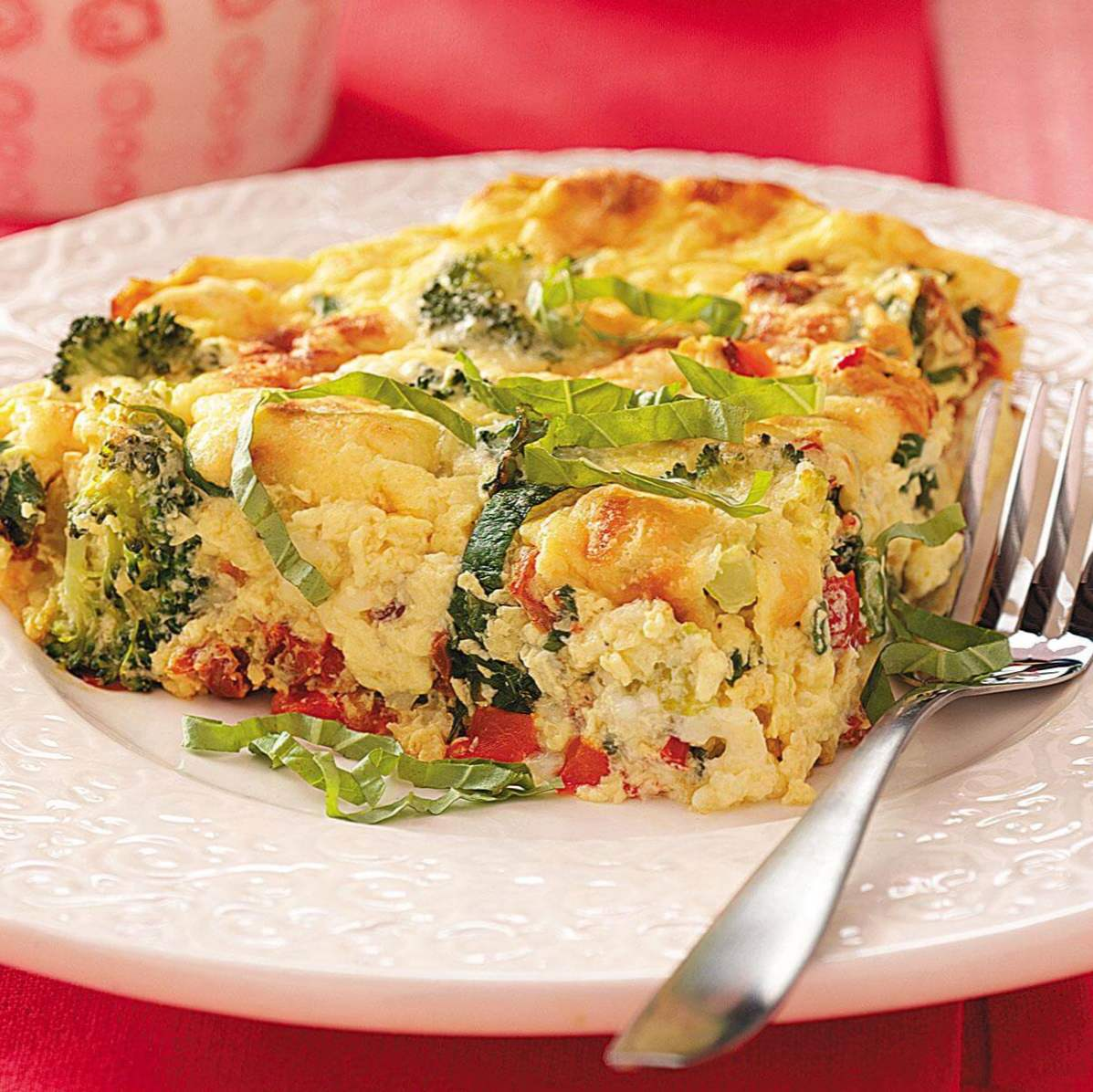Courgettetomaat Frittata / Stovetop - One Dish
