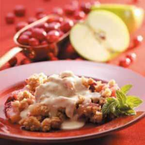 Cran-Apple Crisp gagnant / Chips / Cobblers etc.