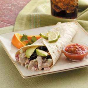 Zippy Chicken Wraps / Wraps / Tortillas / Quesadillas