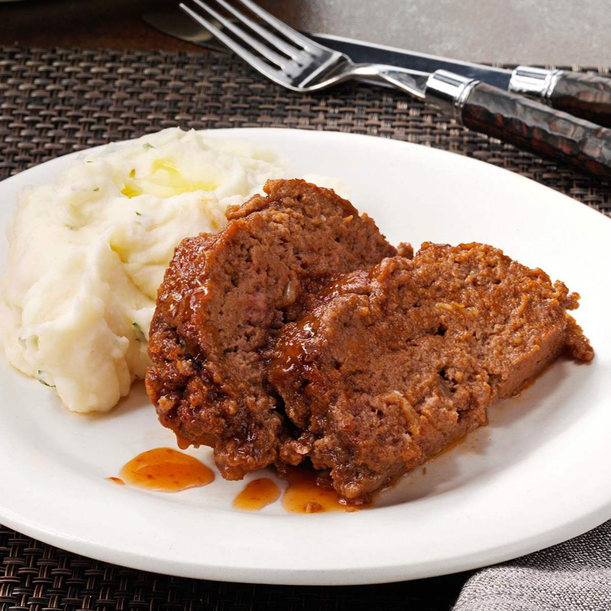 Zippy Sweet-and-Sour Meat Loaf / schnelle Rezepte